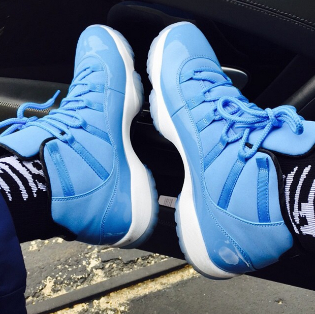 nike jordan ultimate gift of flight aj 11 pantone