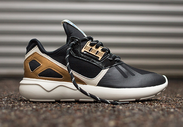 Adidas Tubular Gold On Feet