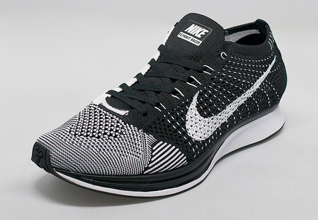Nike Flyknit Racer - White - Black - SneakerNews.com 2903a8428f