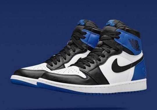 fragment design x Air Jordan 1 Releasing at NikeLab