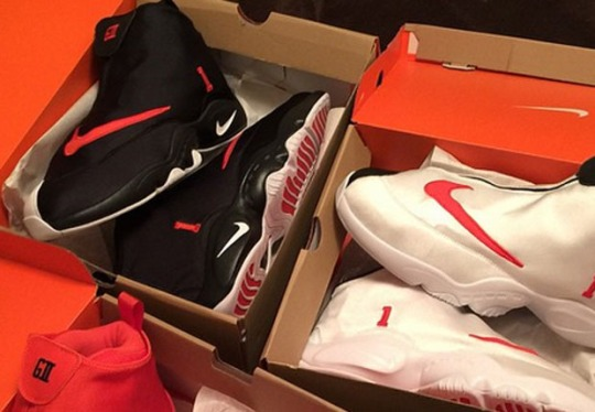 Gary Payton's Son Shows Off More Nike Zoom Flight The Glove PEs