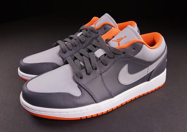jordan 1 grey and orange