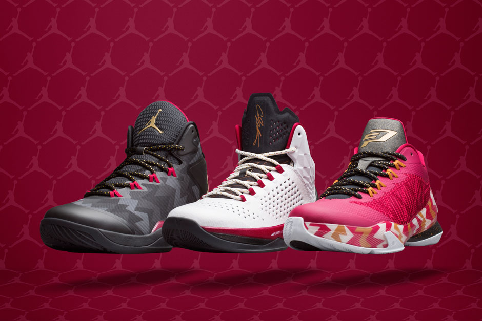 1a4aece1be8bdf The Air Jordan 7-Inspired 2014 Christmas Collection - SneakerNews.com