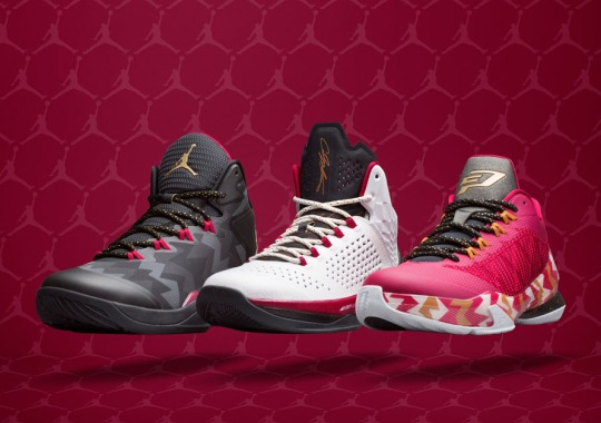 The Air Jordan 7-Inspired 2014 Christmas Collection