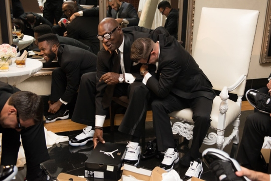 Michael Jordan Celebrates Brother-in-Law Carlos Prieto's Wedding with Custom Concord Lows
