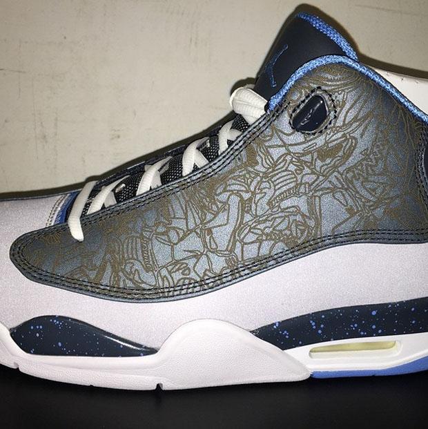 8a03fb902f72 Jordan Dub Zero - Wolf Grey - University Blue - Classic Charcoal -  SneakerNews.com  The Air ...