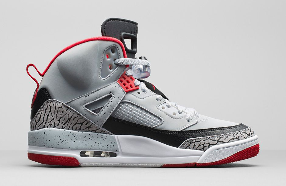 Air Jordan Spizike Grey Red