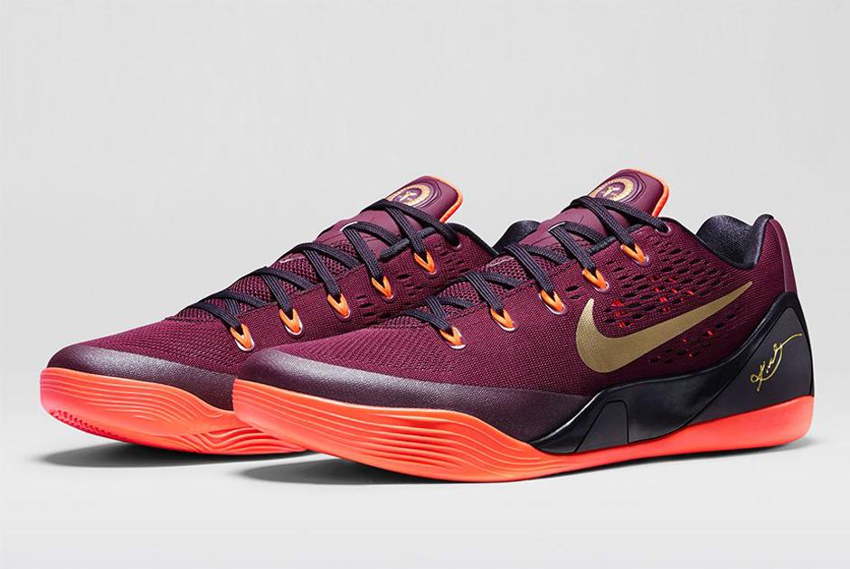 Nike Kobe 9 EM Deep Garnet New Basketball Shoes