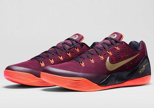 """Nike Kobe 9 EM """"Deep Garnet"""" – Nikestore Release Info"""