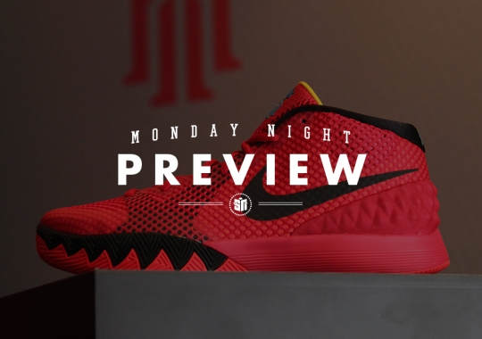 Monday Night Preview: Deceptive Red on the latest Nike Kyrie 1