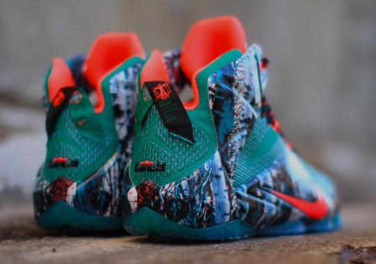 "Nike LeBron 12 ""Christmas"" – Arriving at Retailers"