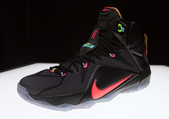 "Nike LeBron 12 ""Data"" – Release Reminder"