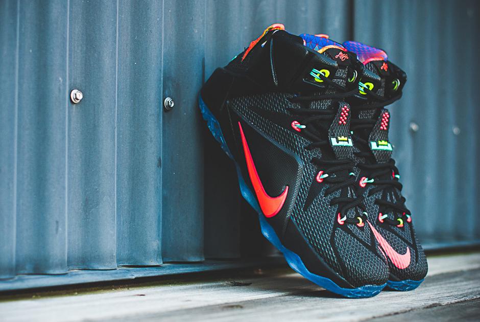 promo code 66dee e5aae Nike LeBron 12