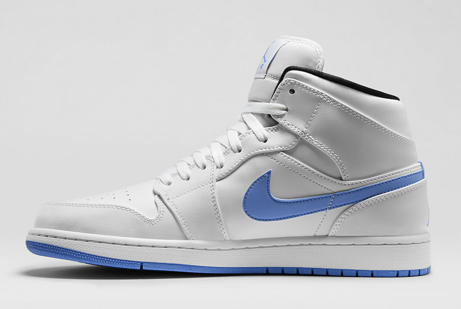air jordan 1 retro mid white\/legend blue-black color