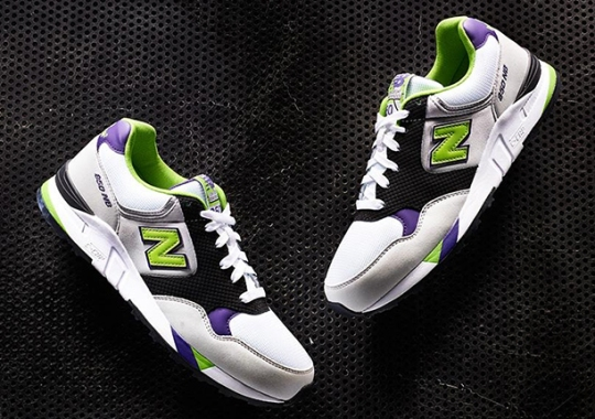 New Balance 850 – White – Purple – Lime