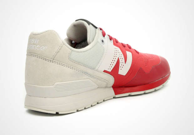 new balance 996 beige red