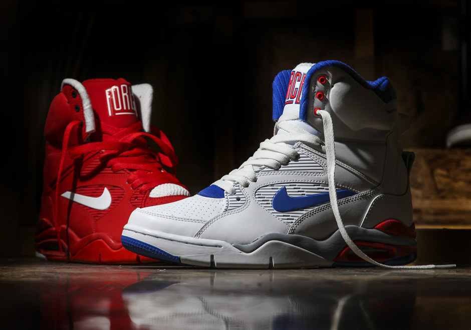 nike air force 2 red white blue