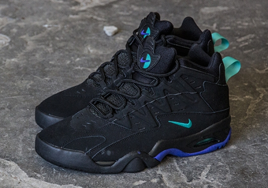 Nike Air Flare – Black – Light Retro – Persian Violet
