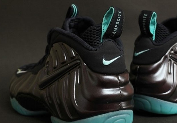 3c574399ad84 Nike Air Foamposite Pro - Dark Obsidian - Light Aqua - SneakerNews.com