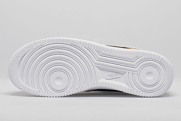 buy online c7267 92491 delicate Nike Air Force 1 Low Velvet Brown Tan