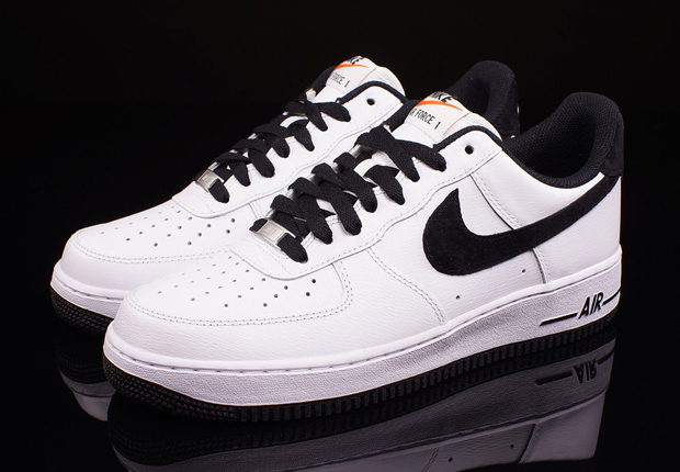 online store ba3e8 ee379 Nike Air Force 1 Low – White – Black – Available