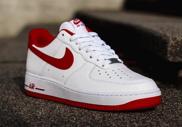 Red Nike Force 1 Low White Gym Air 8wPknXN0O