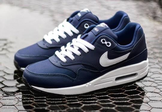 Nike Air Max 1 GS – Midnight Navy – Legend Blue