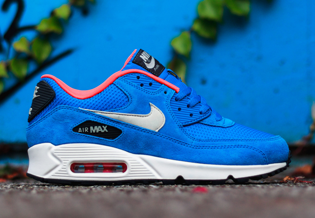 blue nike air max 90
