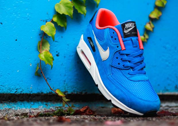nike air max 90 dark electric blue