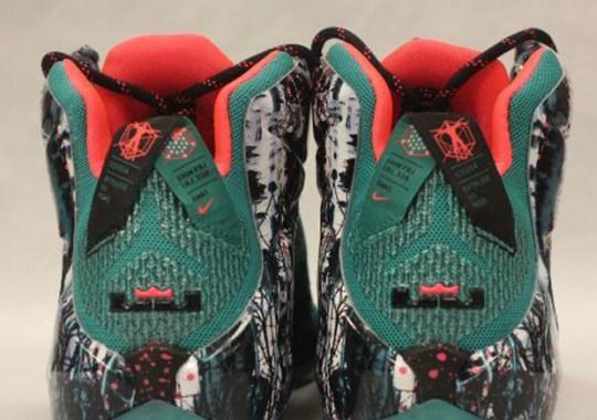 "Nike LeBron 12 ""Christmas"" – Available Early on eBay"