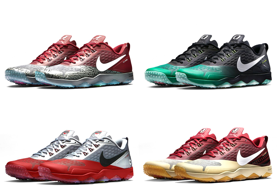 "Nike Zoom Hypercross ""Diamond Quest"" Collection Featuring College Football  Playoff Teams"