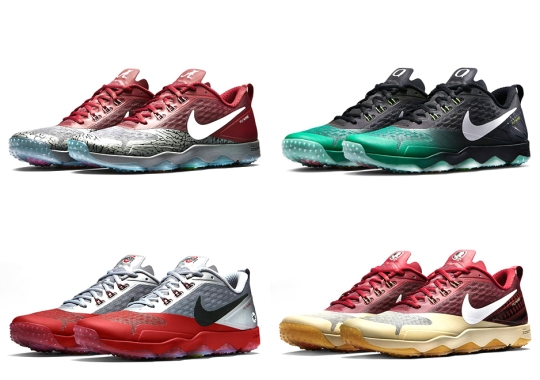 """Nike Zoom Hypercross """"Diamond Quest"""" Collection Featuring College Football Playoff Teams"""