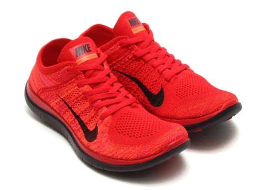 "Nike Free 4.0 Flyknit ""University Red"""