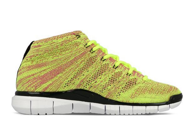 Nike Free Flyknit Chukka Volt Fucsia Nero Lampo Lione Blu XsLOq