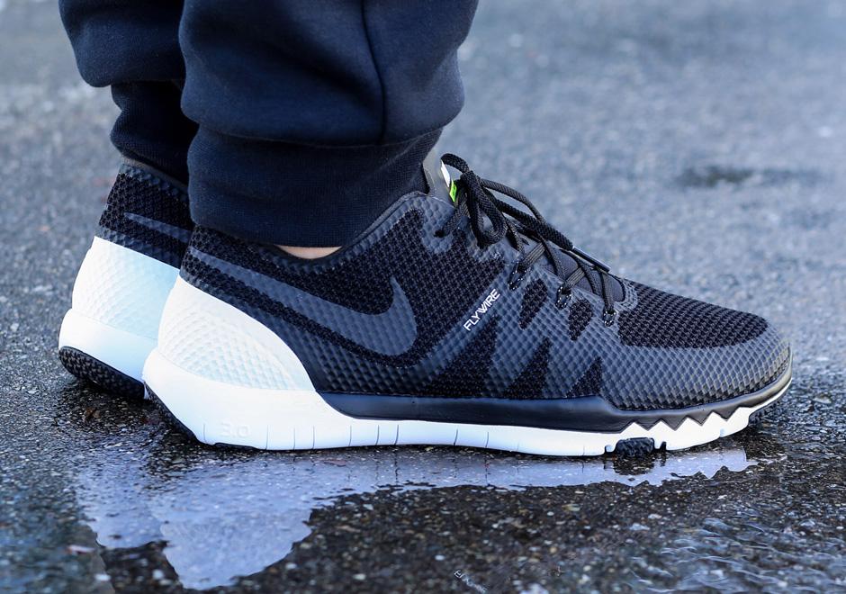 official photos 0d4b0 97e7b Nike Free Trainer 3.0 V3 - Black White - SneakerNews.com