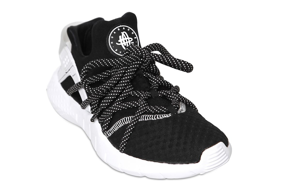 nike huarache free run nm black white sneakernewscom