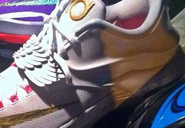 c9c4cbdbac7e Nike KD 7 Premium - White - Metallic Gold - Pink Pow - Pure Platinum ...