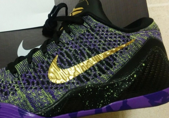 "Nike Kobe 9 Elite iD ""Mamba Moment"" – Available on eBay"