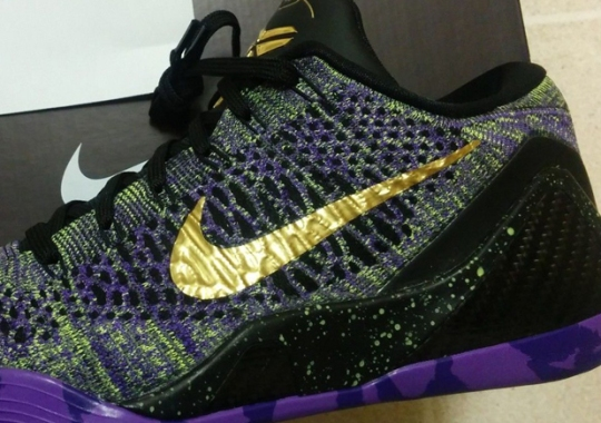 "6fbe3305fb137 Nike Kobe 9 Elite iD ""Mamba Moment"" – Available ..."