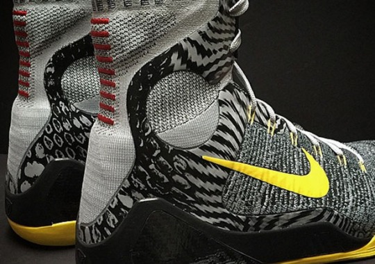 "Nike Kobe 9 Elite ""Tour Yellow"" PE for Kobe Bryant"