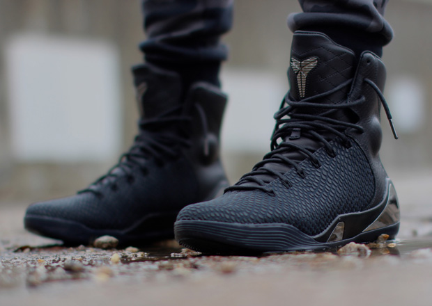 "huge discount 06afd 07bd3 Nike Kobe 9 High KRM EXT ""Black Mamba"" – Release Reminder"