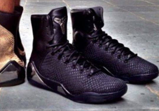 """Nike Kobe 9 EXT """"Black"""" – Release Date"""