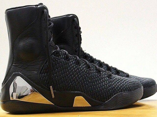 "Nike Kobe 9 High KRM EXT ""Black"" – Release Date"