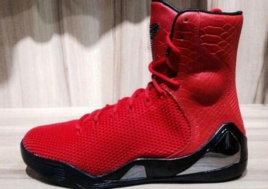 "Nike Kobe 9 KRM EXT ""Red Mamba"""