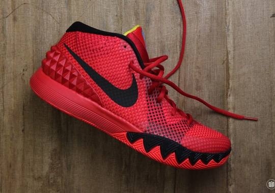 """Nike Kyrie 1 """"Deceptive Red"""" – Release Date"""