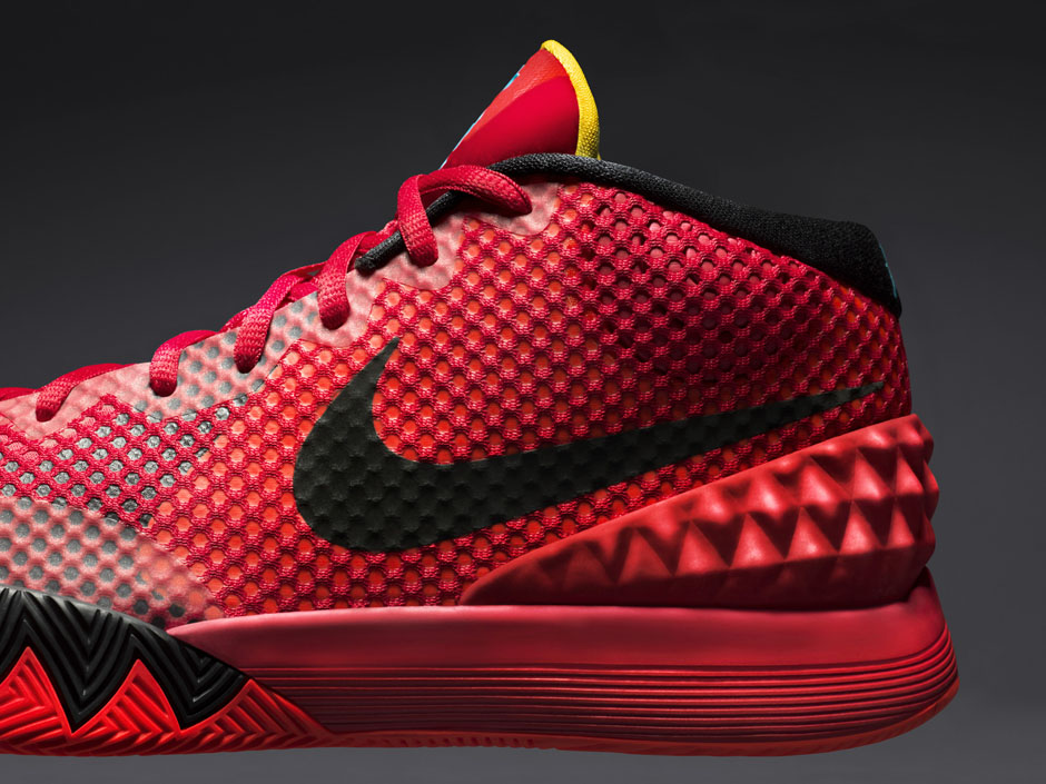 "designer fashion 3c82a dc9a6 Nike Kyrie 1 ""Deceptive Red"" Color  Bright Crimson.Black-University Red- Black Style Code  705277-606. Release Date  January 10, 2015. Price   110"
