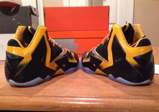 "Nike LeBron 11 ""Bumblebee"" Promo Sample"