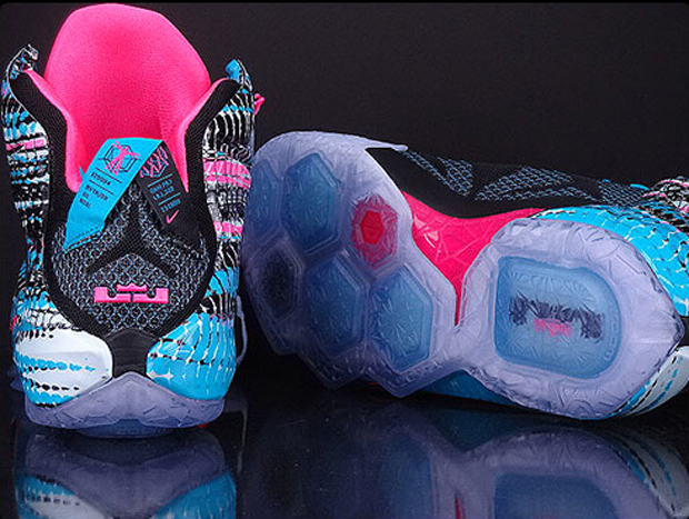 separation shoes 6337a 51198 ... nike lebron 12 womens pink black ... Shop this Article ...