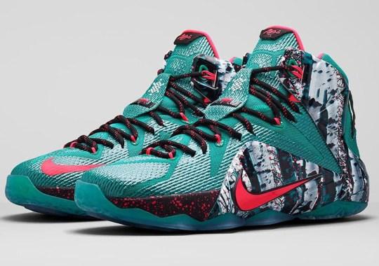 "Nike LeBron 12 ""Christmas"" – Release Date"