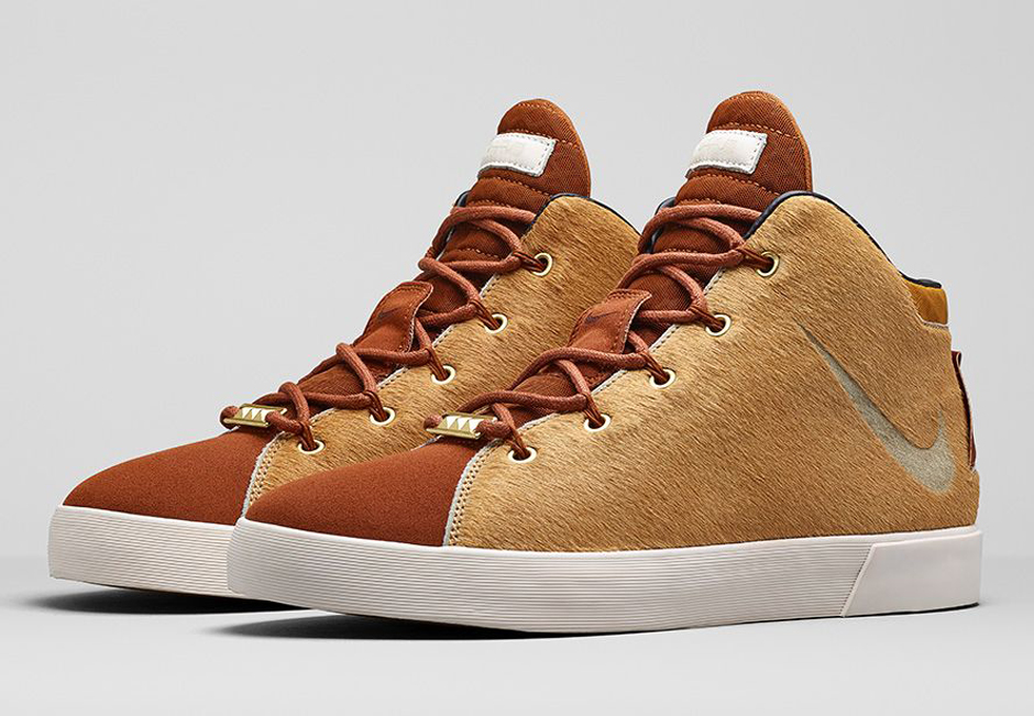 "new style a033f 2b1ef Nike LeBron 12 NSW Lifestyle ""Lion s Mane"" – Nikestore Release Info"